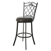 Copacabana Swivel Stool, Dark Brown