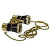 Levenhuk Broadway 325F Opera Glasses (black, with LED light and chain)
