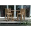 Bahama Chairs and Side Table 5 Piece Set
