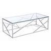 ZuoMod CAGE COFFEE TABLE STAINLESS STEEL