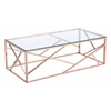 ZuoMod CAGE COFFEE TABLE ROSE GOLD