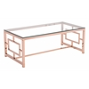 GERANIUM COFFEE TABLE ROSE GOLD