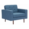 ZuoMod PUGET ARM CHAIR BLUE