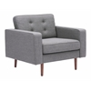 ZuoMod PUGET ARM CHAIR GRAY