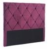 MATIAS HEADBOARD QUEEN WINE VELVET