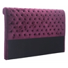 ZuoMod SERGIO HEADBOARD KING WINE VELVET