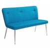 ZuoMod HOPE BENCH BLUE/GRAY