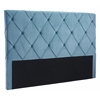 ZuoMod MATIAS HEADBOARD KING BLUE VELVET