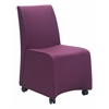 ZuoMod WHITTLE DINING CHAIR PURPLE, Set of 2