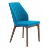 VAZ DINING CHAIR BLUE VELVET, Set of 2