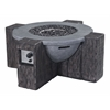 ZuoMod Hades Propane Fire Pit Gray