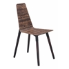 ZuoMod Ignore Dining Chair Distressed Brown