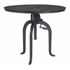 ZuoMod Lincoln Dining Table Antique Black