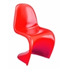 ZuoMod S Chair Red, Set of 2