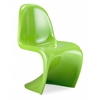 S Chair Green, Set of 2