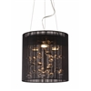 ZuoMod Subatomic Ceiling Lamp Black