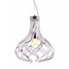 ZuoMod Cyclone Ceiling Lamp Clear