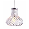ZuoMod Tsunami Ceiling Lamp Clear