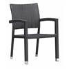 ZuoMod BORACAY DINING CHAIR ESPRESSO, Set of 2