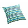 Puppy Small Outdoor Pillow Multicolor stripe