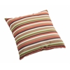 ZuoMod Hamster Small Outdoor Pillow Brown base multistripe
