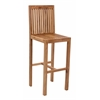 ZuoMod TRIMARAN BAR CHAIR NATURAL