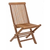 REGATTA FOLDING CHAIR NATURAL, Set of 2