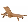 ZuoMod STARBOARD CHAISE LOUNGE NATURAL