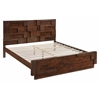 ZuoMod SAN DIEGO KING BED WALNUT