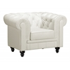 ZuoMod ARISTOCRAT ARM CHAIR WHITE
