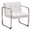 ZuoMod VARIETAL ARM CHAIR WHITE