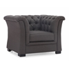 ZuoMod Nob Hill Armchair Charcoal Gray