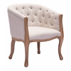 ZuoMod SHOTWELL DINING CHAIR BEIGE