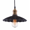 ZuoMod HAMILTON CEILING LAMP ANITQUE BLK/COPPER