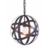 ZuoMod PLYMOUTH CEILING LAMP RUST