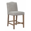 ZuoMod PASADENA COUNTER CHAIR BEIGE