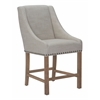ZuoMod INDIO COUNTER CHAIR BEIGE