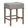 ANAHEIM COUNTER STOOL BEIGE, Set of 2