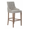 ZuoMod BURBANK BAR CHAIR BEIGE