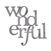 Letter2Word Wonderful Wall Decor