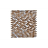 Legion furniture Mosaic Mix With Stone-Sf, Brown
