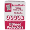 Traditional Polypropylene Sheet Protector, Standard Weight, 11 x 8 1/2, 50/BX (Set of 3 BX)