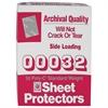 C-Line Traditional Polypropylene Sheet Protector, Standard Weight, 11 x 8 1/2, 50/BX (Set of 3 BX)