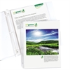 C-Line Biodegradable Sheet Protectors, Clear, Top Loading, Standard Weight Polypropylene, 11 x 8 1/2, 25/PK (Set of 6 PK)