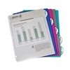 Biodegradable 5-Tab Poly Binder Index Dividers, Assorted, 5/PK (Set of 12 PK)
