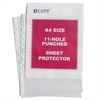 Heavyweight Polypropylene Sheet Protector, A4 SIZE, Clear, 11 3/4 x 8 1/4, 50/BX (Set of 2 BX)