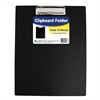 C-Line Clipboard Folder, Black, 1/EA (Set of 6 EA)