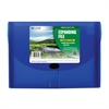 C-Line Biodegradable 13-Pocket Letter Size Expanding File, Blue, 1/EA (Set of 3 EA)