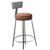 C-Line Chair and Stool Cushion, 2 inch, Brown, 14 in. Diameter, 1/EA