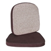 C-Line Chair and Stool Cushion, 2 inch, Brown, 17 1/2 x 18, 1/EA